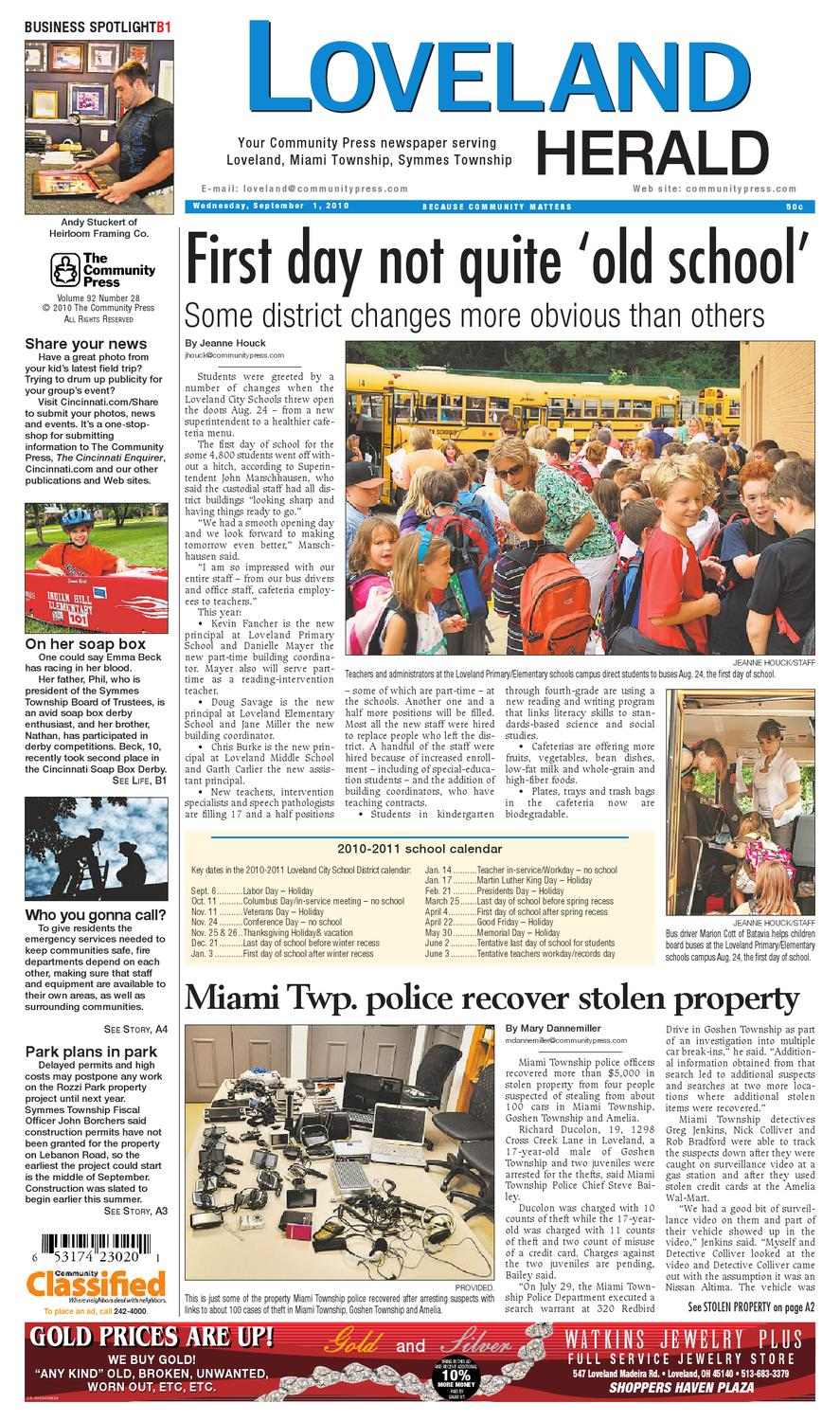 loveland-herald-090110 by Enquirer Media - issuu