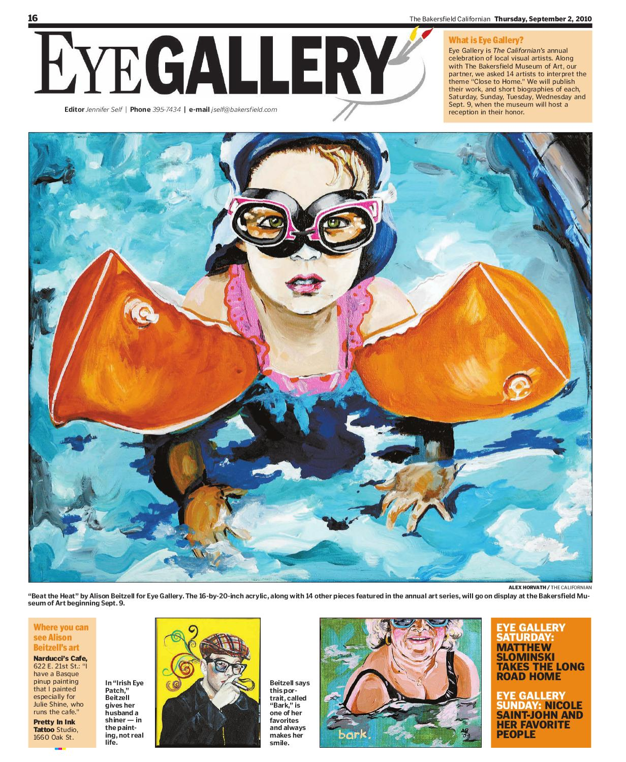 The Bakersfield Californian Eye St Entertainment 9 2 10 By Matt Munoz