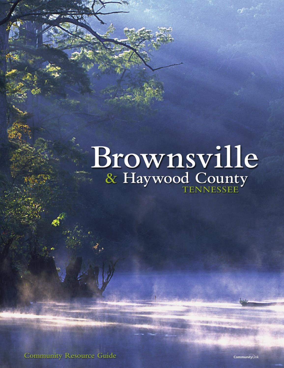 Tennessee haywood county stanton - Brownsville Haywood County Tn 2005 Community Resource Guide By Communitylink Issuu