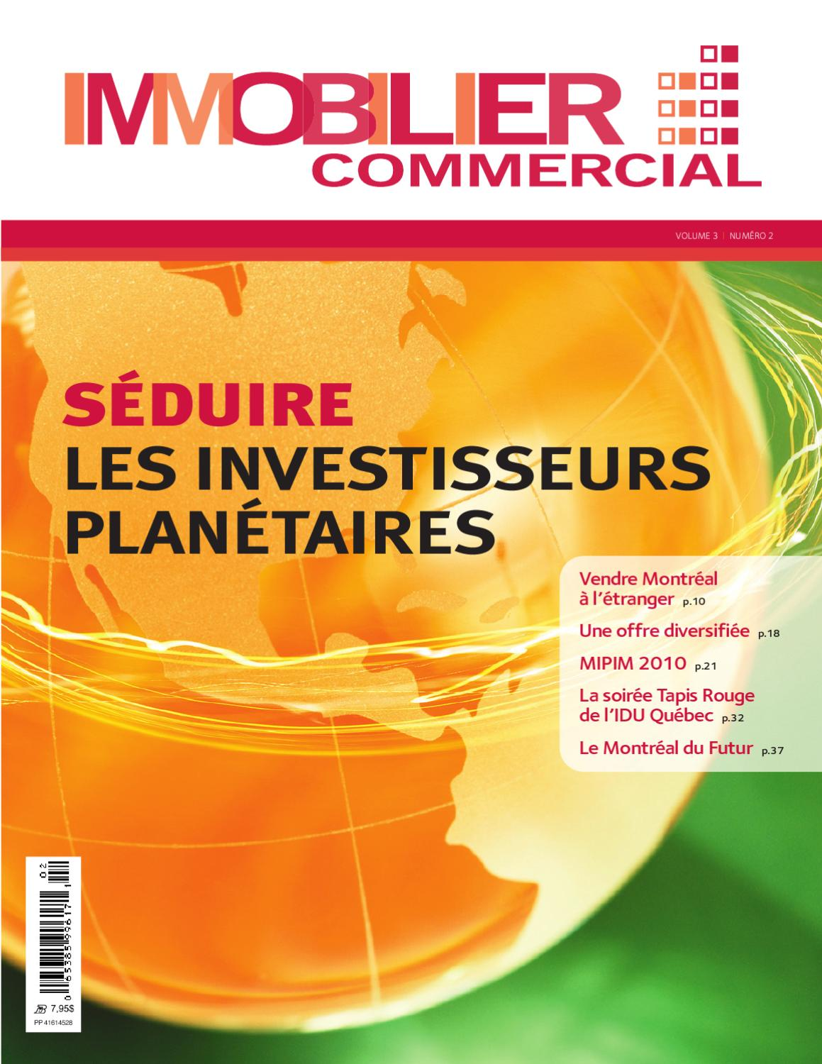 Magazine Immobilier Commercial Vol 3 No 2 By Jbc Media Inc Issuu