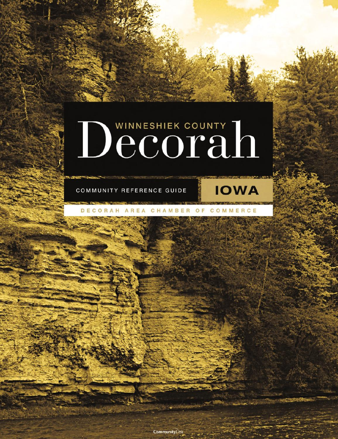 Decorah, IA 2010 Community Reference Guide by Tivoli Design + Media ...