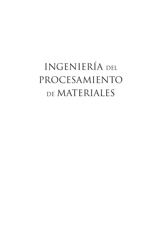 Ingenieria del procesamiento de materiales by MOSingenieros | Blog ...
