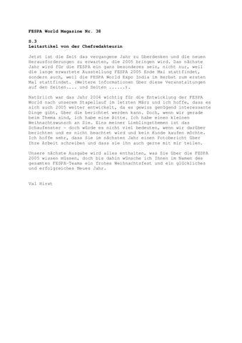 FESPA WORLD Issue 38 - Deutsch by FESPA - issuu