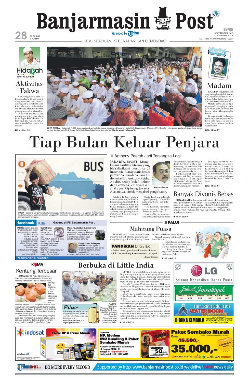 Banjarmasin Post edisi Senin 6 September 2010 by Banjarmasin Post ...