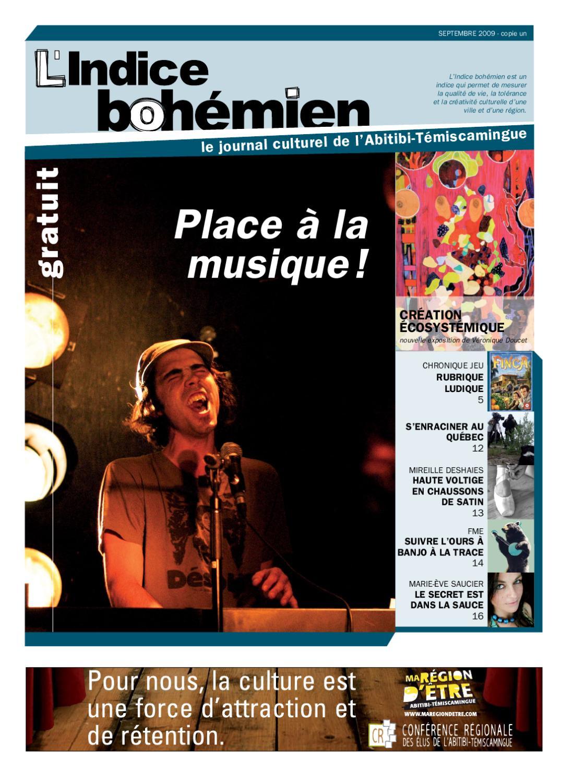 Vol01 Septembre L'indice Bohémien 2009 No A4R3L5j