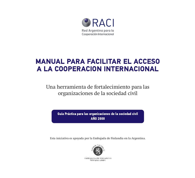 Manual de Cooperación by Fundación SES - issuu