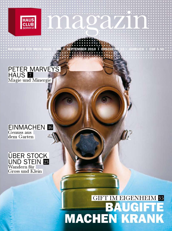 HAUS CLUB SCHWEIZ Ausgabe Nr.7 | September by HAUS MAGAZIN - issuu