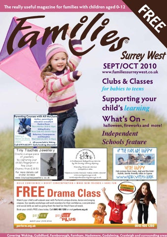 Families Surrey West Sept Oct 2010 by Families Magazine - issuu 96a6a8322d35