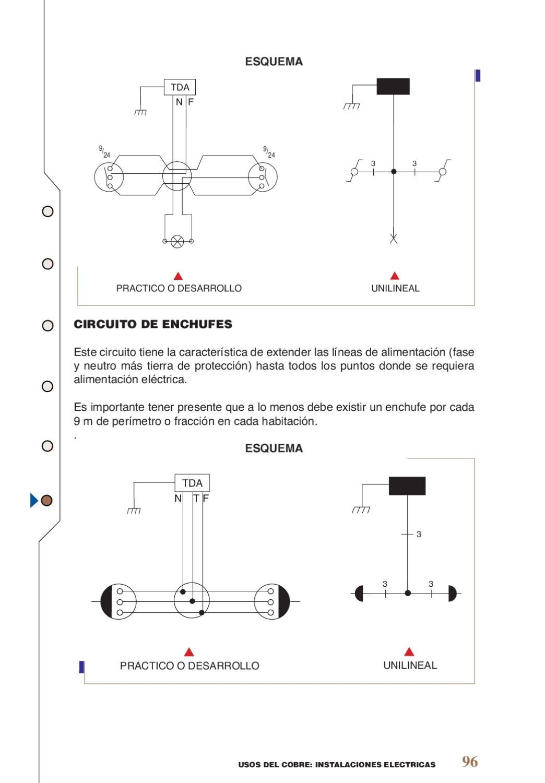 Circuito Unilineal : Instalaciones electricas by jaime millapan issuu