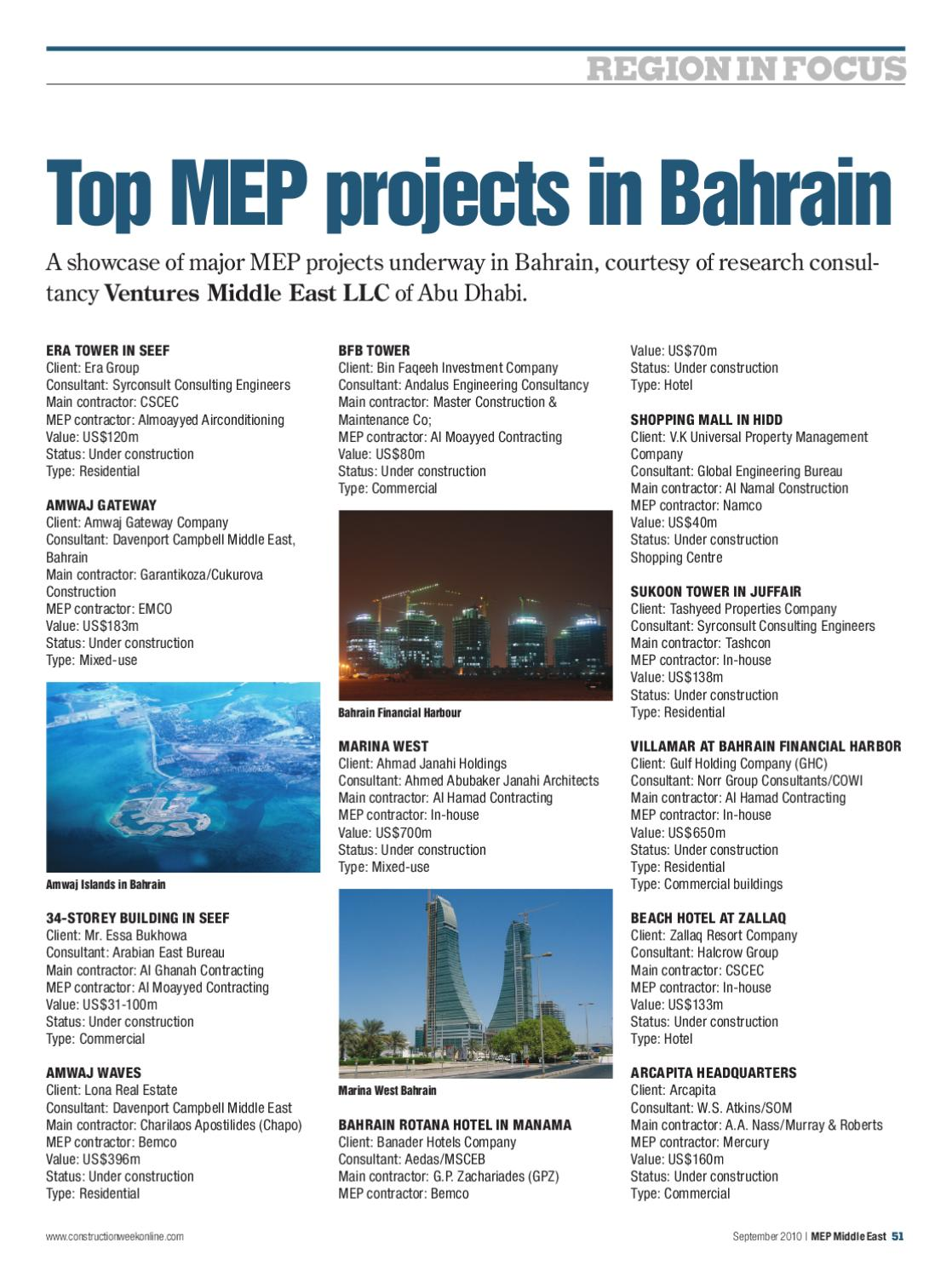 MEP Middle East - Sept 2010