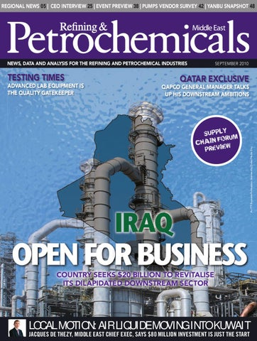 Refining & Petrochemicals ME - Sept 2010 by ITP Business Publishing