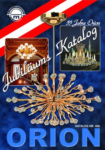Orion Katalog Jubileuszowy By Jtb Group Issuu