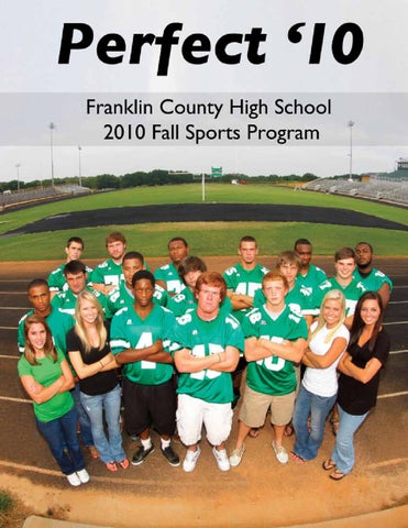Franklin County High School 2010 Fall Sports Program By Carey Drake