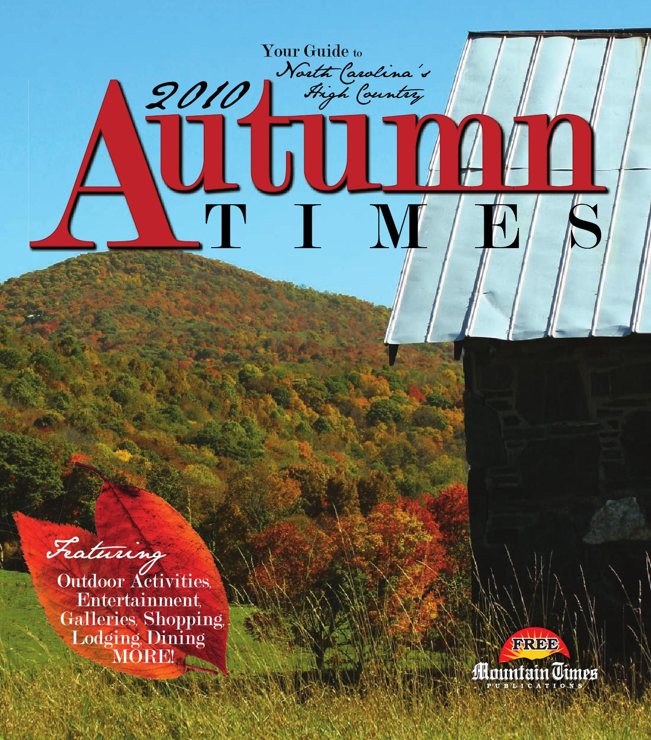 Autumn Times 2010 by Mountain Times Publications - issuu