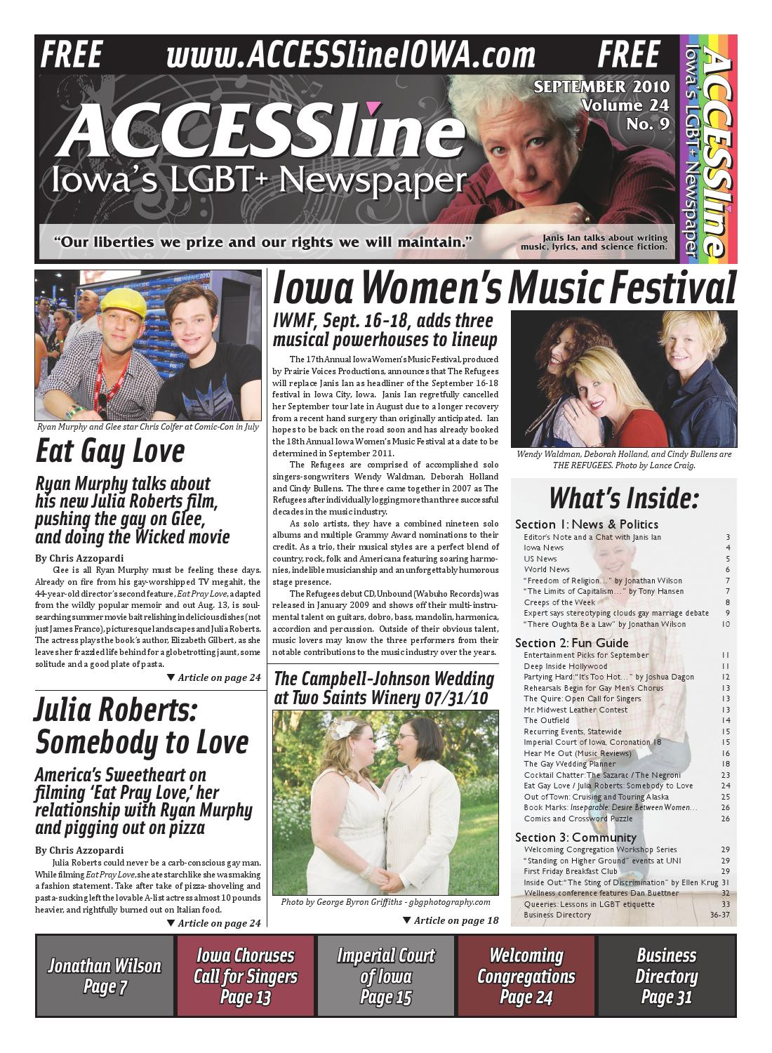 Iowa city gay newspaper