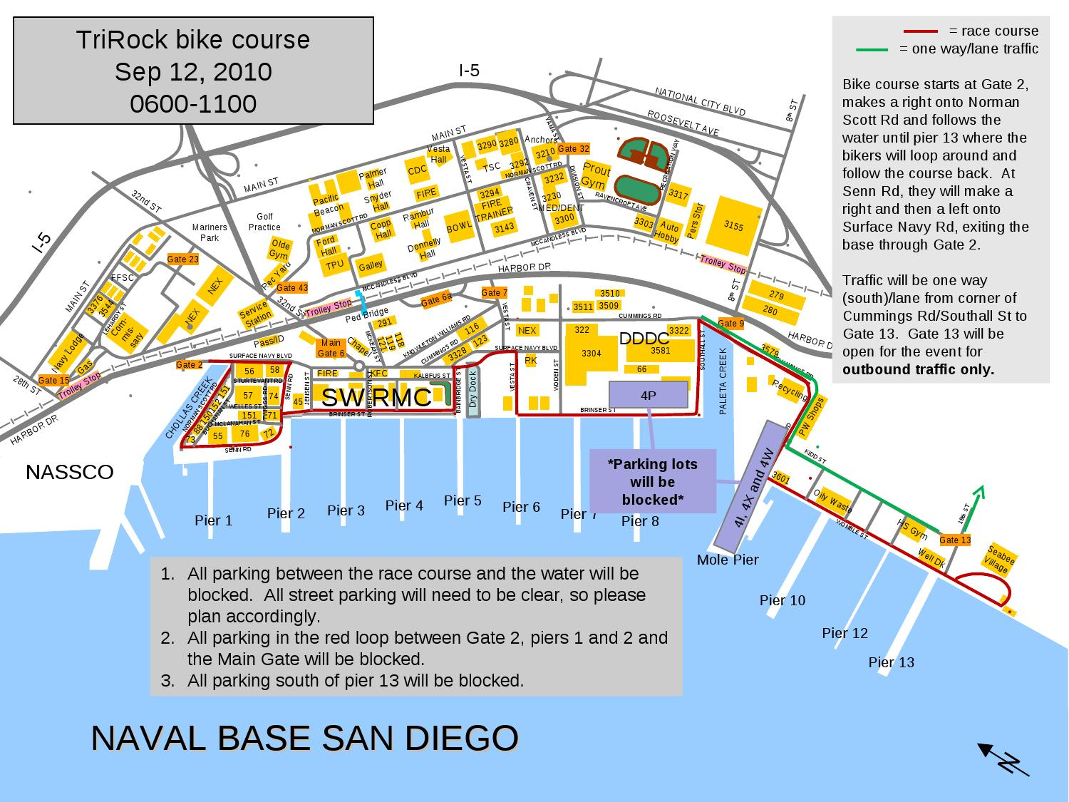 Parking Plan for TriRock by Naval Base San Diego issuu