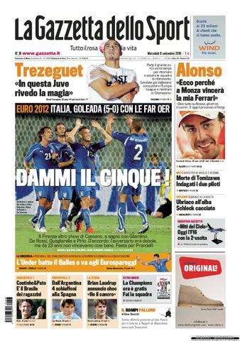 Gazzetta dello sport 08-09-10 by Edo Crive - issuu 9febad514c94