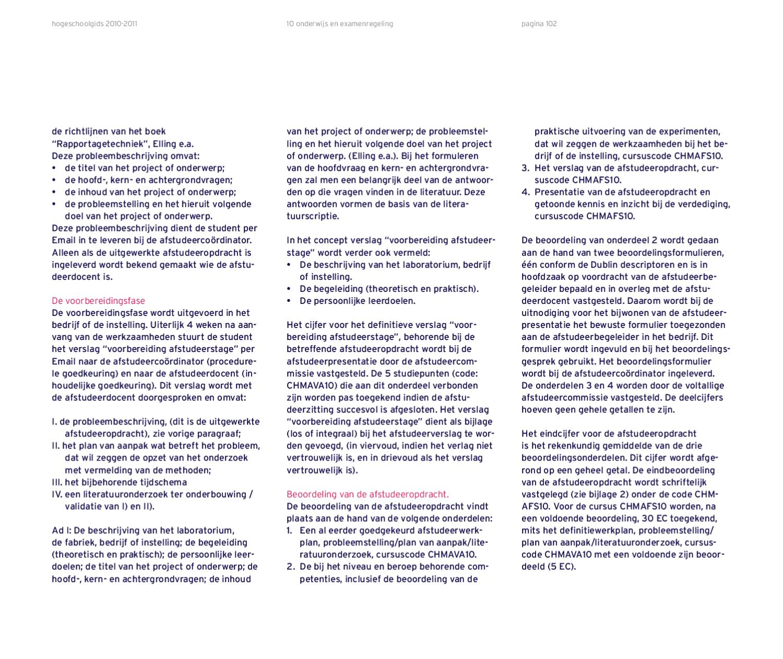 plan van aanpak afstudeeropdracht Hogeschoolgids EAS by Hogeschool Rotterdam   issuu plan van aanpak afstudeeropdracht