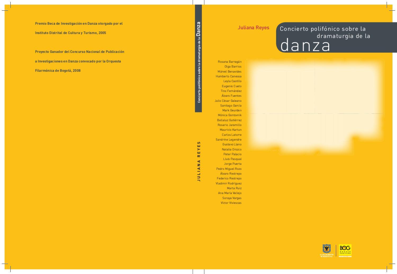 Concierto polifónico sobre la dramaturgia de la danza by Orquesta ...