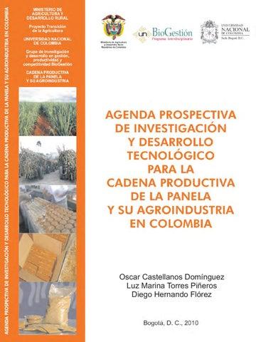 Agenda prospectiva de investigación y desarrollo tecnológico para la ...
