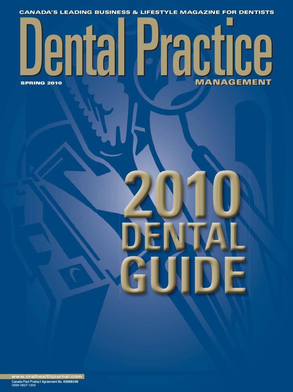 Dental Practice Management Spring 2010 by Annex-Newcom LP - issuu