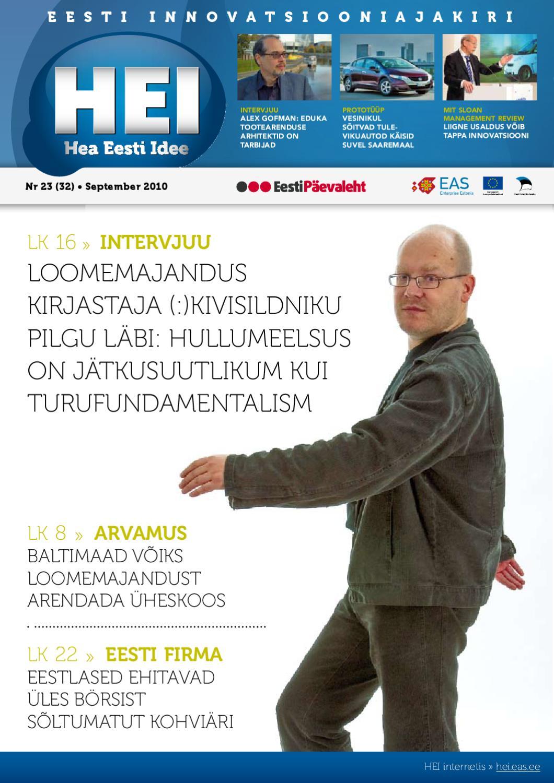 8a2e3a7b922 HEI 2010 09 by EAS, Enterprise Estonia - issuu