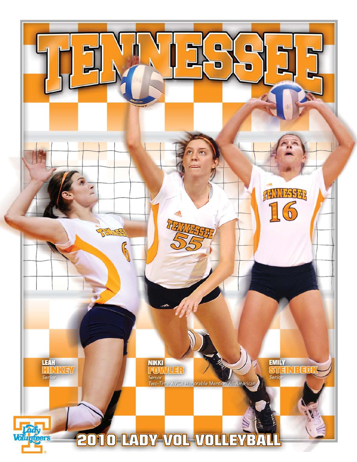 2010 University Of Tennessee Volleyball Media Guide By Cameron Harris Issuu