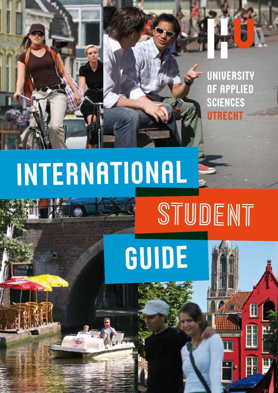 International Student Guide by Hogeschool Utrecht - issuu
