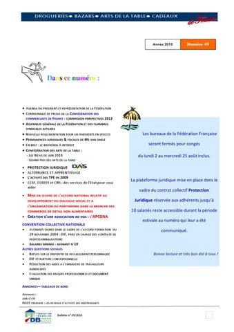 Bulletin 49 aout 2010 by dominique murati issuu - Confederation des arts de la table ...
