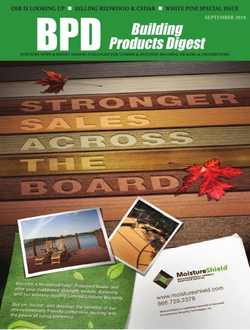 Building Products Digest September 2010 by 526 Media Group issuu