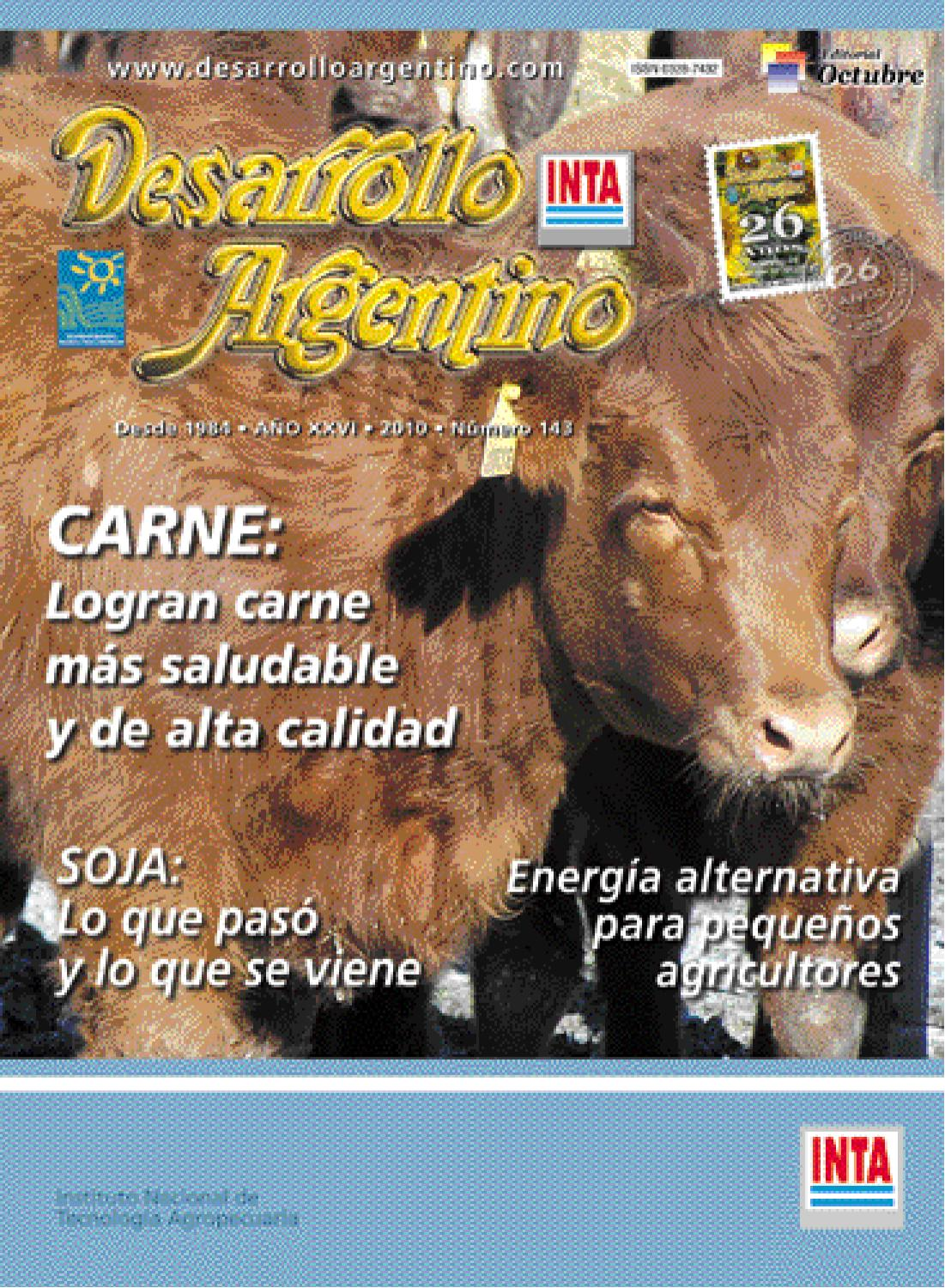 La revista del campo argentino by desarrollo argentino issuu for Revistas del espectaculo argentino