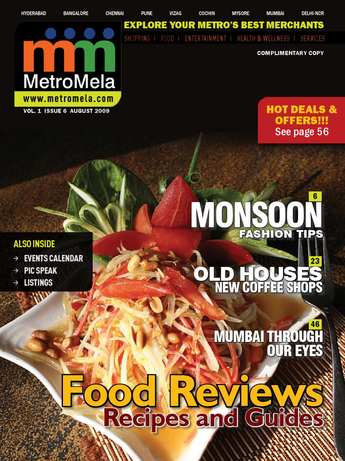 Http Hyderabad Metromela Com Images Magazine August09issue By