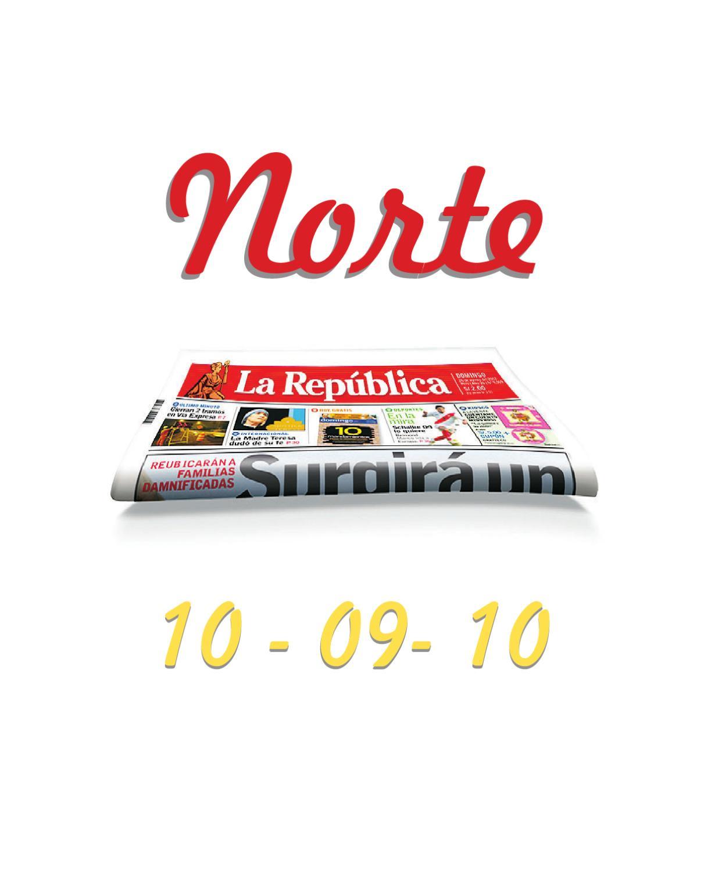La Rep Blica Norte 10 09 10 By Grupo La Rep Blica Publicaciones  # Muebles Ludena Chimbote
