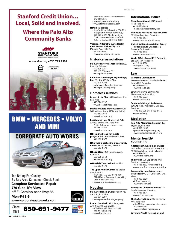 Info Palo Alto 2010-2011 - Section 1 by Palo Alto Weekly - issuu