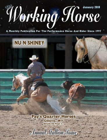 The By 2010 Horse January Edje Working Issuu HwSrqH
