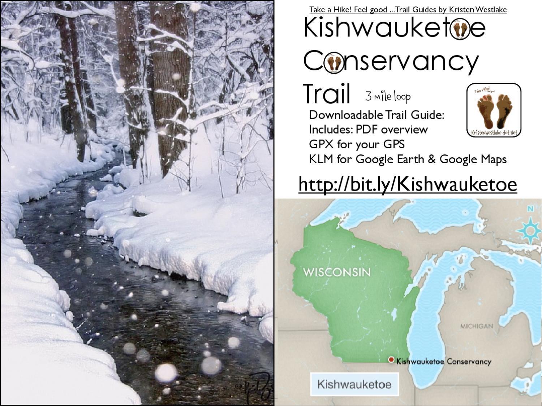 Kishwauketoe Trail Guide - 3 mile loop by Kristen Westlake
