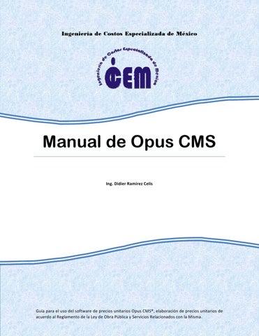 Manual de Opus CMS by Didier Ramirez Celis - issuu