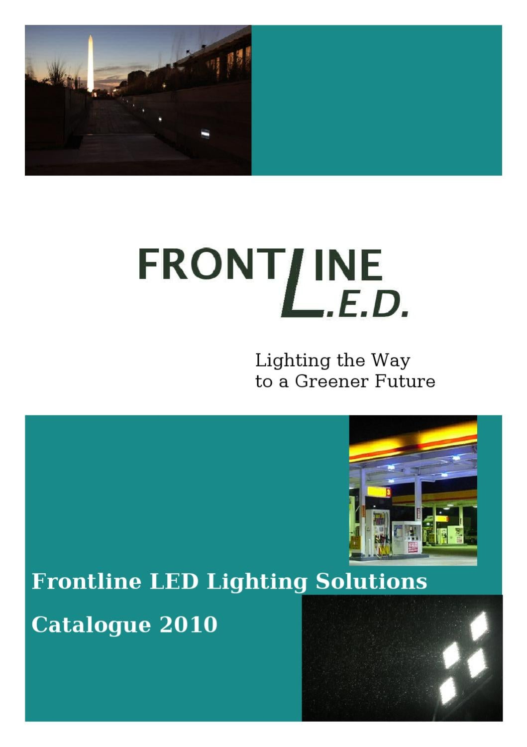 Frontline LED Winter Catalogue 2010 by Cian O Flaherty - issuu