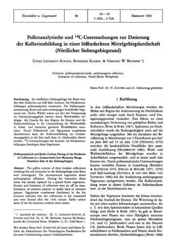 Radiocarbon-Datierung fГјr Fossilien