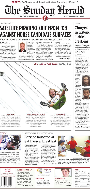 829dae5b44b Sunday, Sept. 12 by The Sanford Herald - issuu