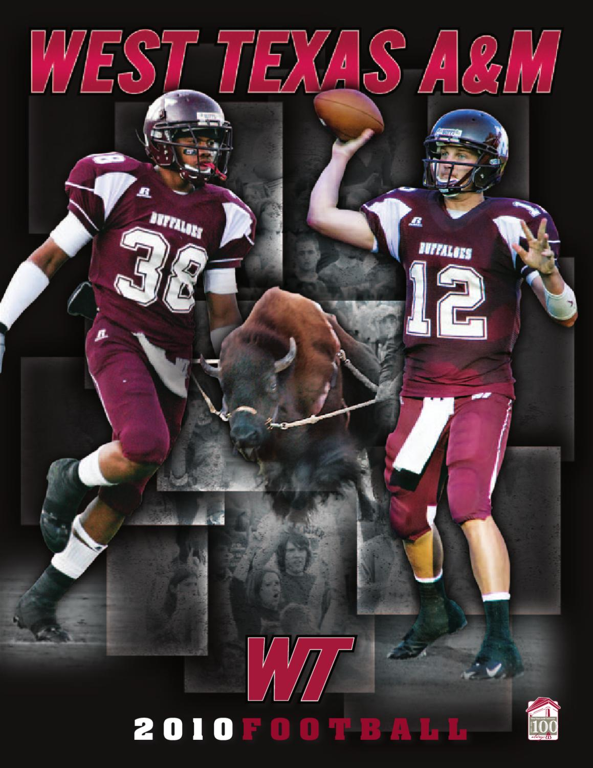 2010 West Texas A&M Buffs Football Media Guide by West Texas A&M ...