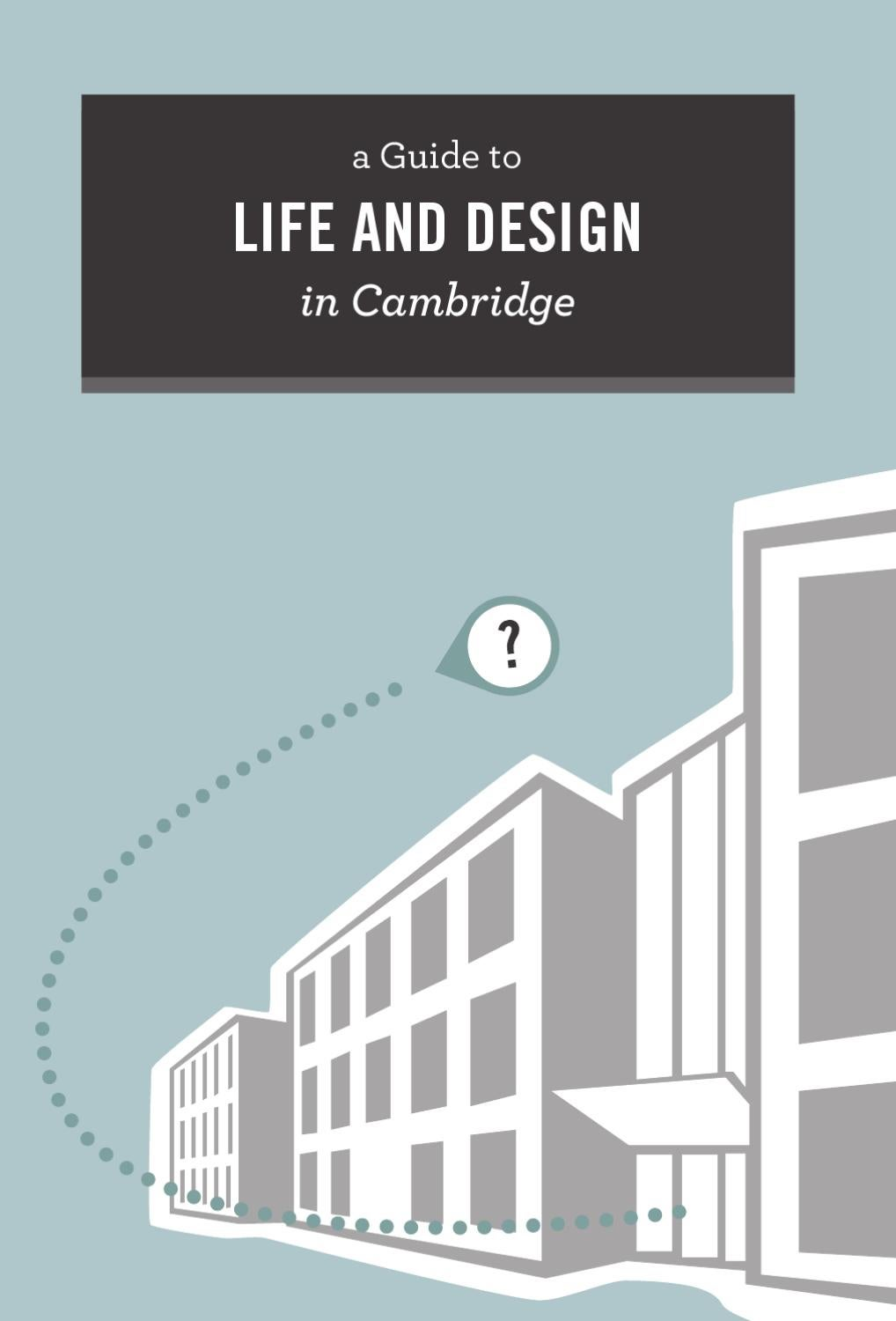 University of Waterloo School of Architecture Introduction Booklet ...
