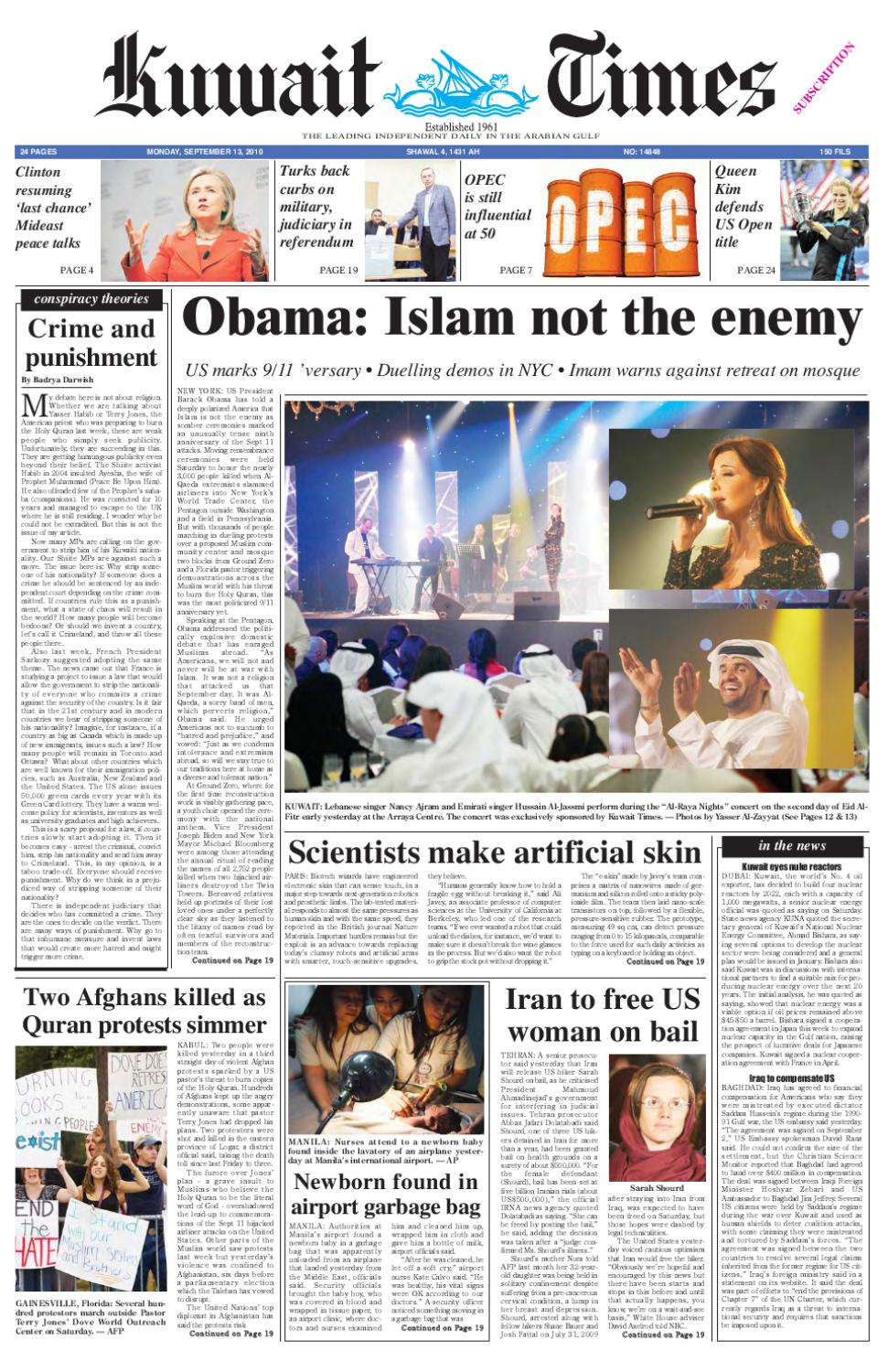 13 Sep by Kuwait Times - issuu