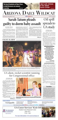 206a897f9b Arizona Daily Wildcat — Sept. 8, 2010 by Arizona Daily Wildcat - issuu