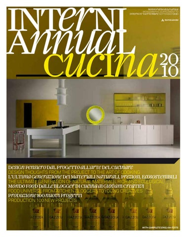 Interni Annual Cucina 2010 by Interni Magazine - issuu 23338420a13c
