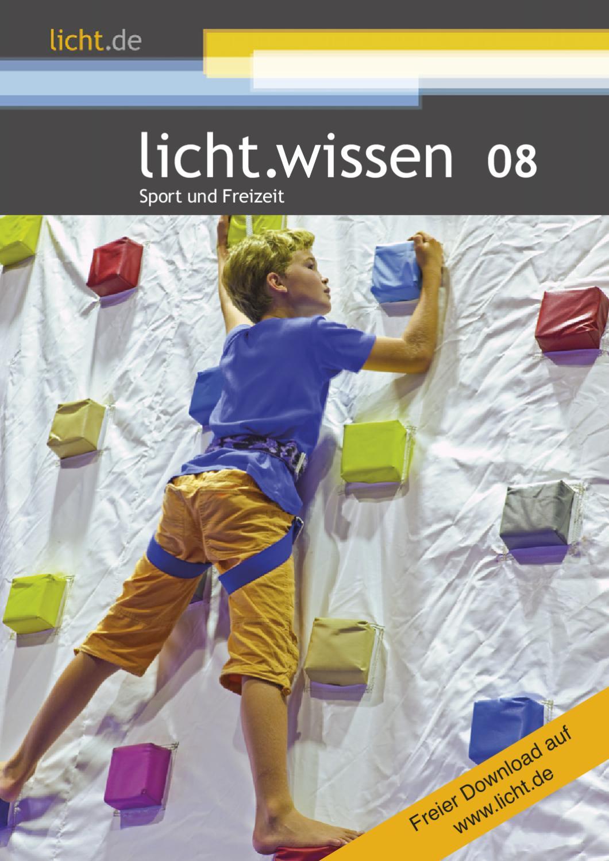"""licht.wissen 8 """"Sport und Freizeit"""