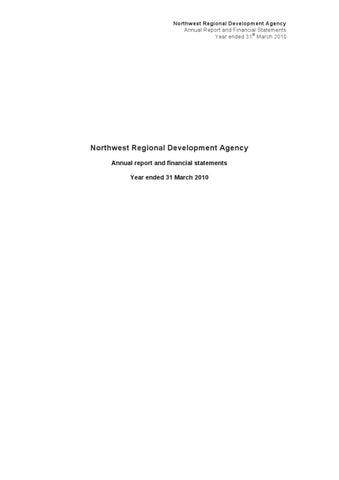www nwda co uk pdf nwda report and accounts 2009_10