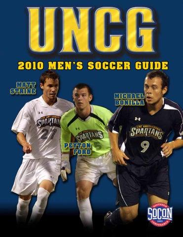 92dfcfa7f6a 2010 UNCG Men s Soccer Media Guide by UNCG Athletics - issuu