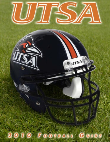 2010 UTSA Football Media Guide by UTSA Athletics Communications - issuu 386922a42