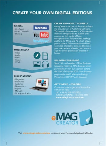 Publish Digital Magazines with eMagStudio by Papeer International